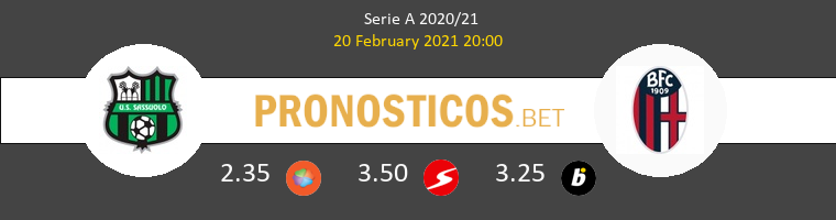 Sassuolo vs Bologna Pronostico (20 Feb 2021) 1
