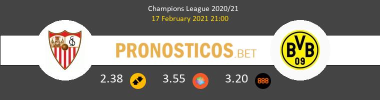 Sevilla vs Dortmund Pronostico (17 Feb 2021) 1