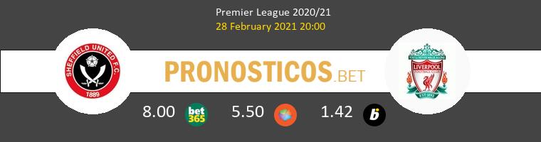 Sheffield United vs Liverpool Pronostico (28 Feb 2021) 1