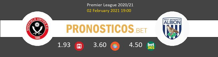 Sheffield vs West Bromwich Albion Pronostico (2 Feb 2021) 1