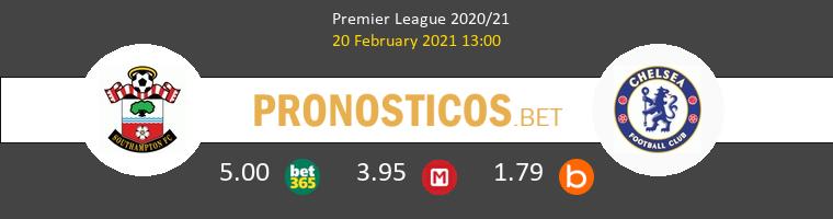Southampton vs Chelsea Pronostico (20 Feb 2021) 1