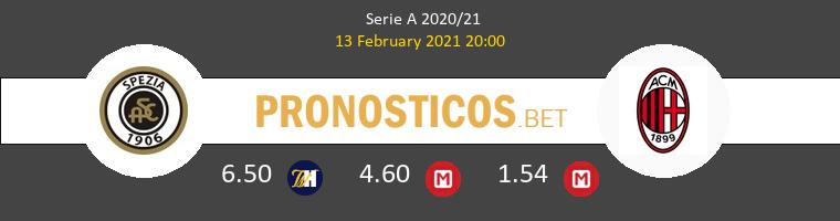 Spezia vs AC Milan Pronostico (13 Feb 2021) 1