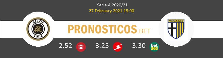 Spezia vs Parma Pronostico (27 Feb 2021) 1