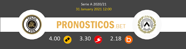 Spezia vs Udinese Pronostico (31 Ene 2021) 1