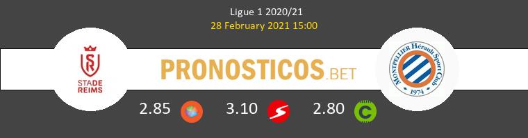 Stade de Reims vs Montpellier Pronostico (28 Feb 2021) 1