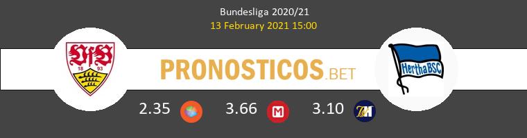 Stuttgart vs Hertha Berlin Pronostico (13 Feb 2021) 1