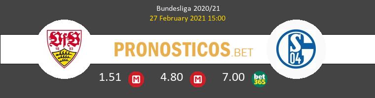 Stuttgart vs Schalke 04 Pronostico (27 Feb 2021) 1