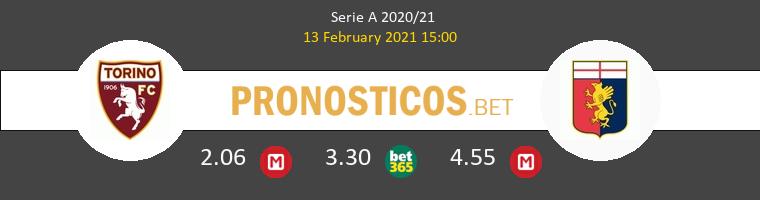 Torino vs Genova Pronostico (13 Feb 2021) 1