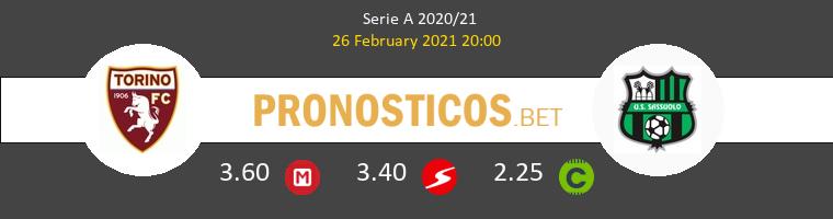 Torino vs Sassuolo Pronostico (26 Feb 2021) 1