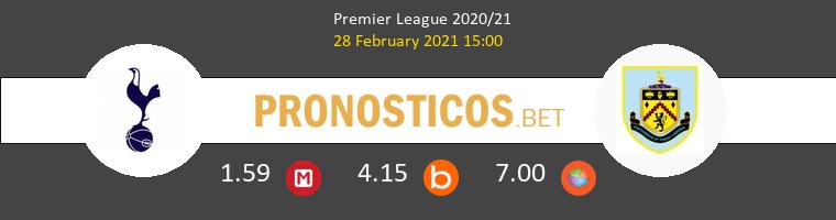 Tottenham Hotspur vs Burnley Pronostico (28 Feb 2021) 1