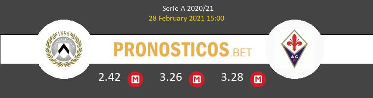 Udinese vs Fiorentina Pronostico (28 Feb 2021) 1