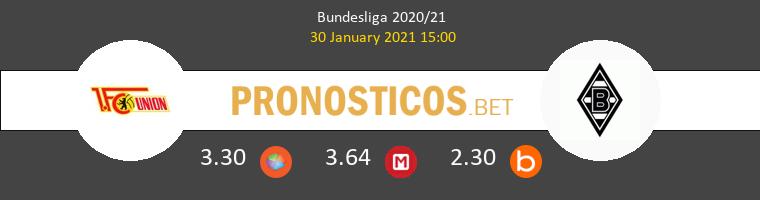 Union Berlin vs B. Mönchengladbach Pronostico (30 Ene 2021) 1