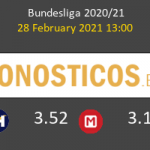 Union Berlin vs Hoffenheim Pronostico (28 Feb 2021) 4