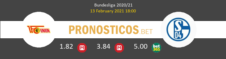 Union Berlin vs Schalke 04 Pronostico (13 Feb 2021) 1