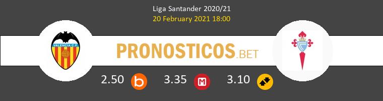 Valencia vs Celta Pronostico (20 Feb 2021) 1