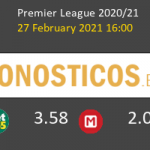 West Bromwich Albion vs Brighton & Hove Albion Pronostico (27 Feb 2021) 7