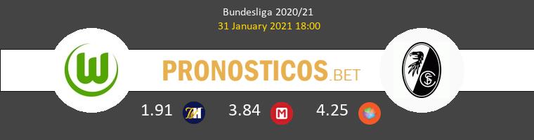Wolfsburgo vs SC Freiburg Pronostico (31 Ene 2021) 1