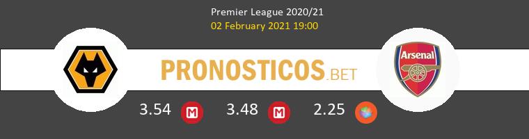 Wolverhampton vs Arsenal Pronostico (2 Feb 2021) 1
