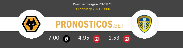 Wolves vs Leeds United Pronostico (19 Feb 2021) 1