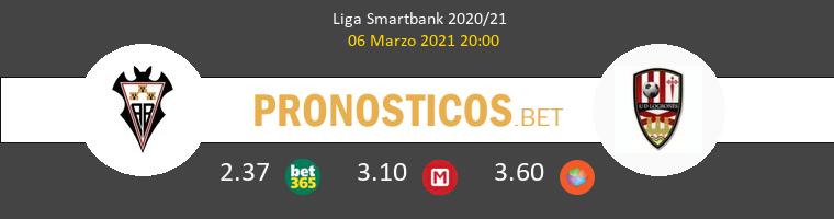 Albacete vs UD Logroñés Pronostico (6 Mar 2021) 1