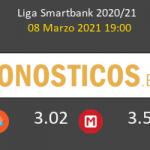 Alcorcón vs Mirandés Pronostico (8 Mar 2021) 3