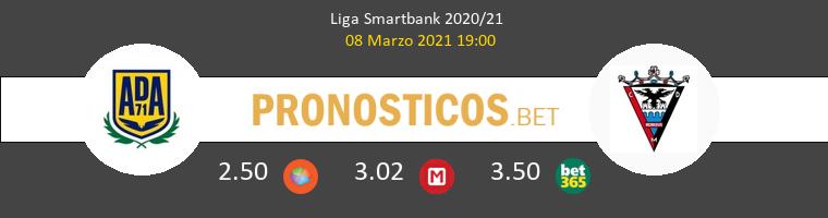 Alcorcón vs Mirandés Pronostico (8 Mar 2021) 1