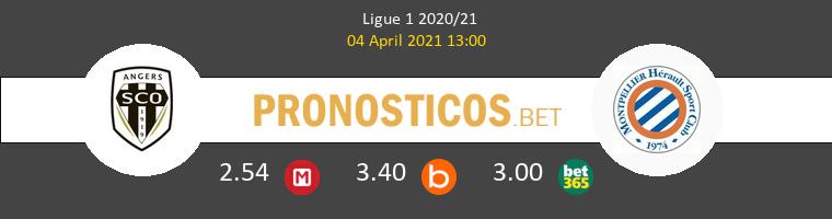 Angers SCO vs Montpellier Pronostico (4 Abr 2021) 1