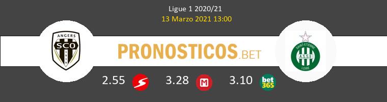 Angers SCO vs SaintvÉtienne Pronostico (13 Mar 2021) 1