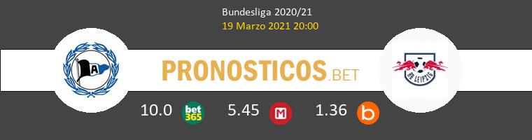 Arminia Bielefeld vs RB Leipzig Pronostico (19 Mar 2021) 1