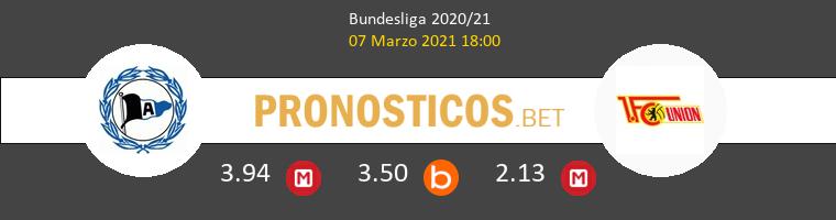 Arminia Bielefeld vs Union Berlin Pronostico (7 Mar 2021) 1