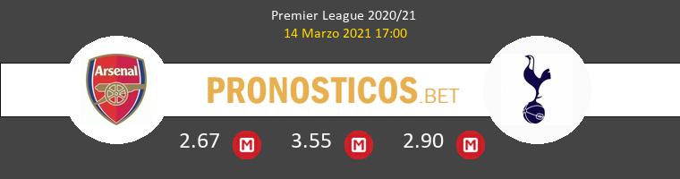 Arsenal vs Tottenham Hotspur Pronostico (14 Mar 2021) 1