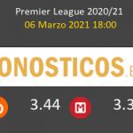 Aston Villa vs Wolverhampton Wanderers Pronostico (6 Mar 2021) 3
