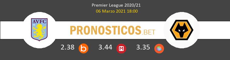 Aston Villa vs Wolverhampton Wanderers Pronostico (6 Mar 2021) 1