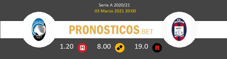 Atalanta vs Crotone Pronostico (3 Mar 2021) 1