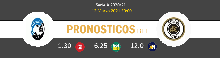 Atalanta vs Spezia Pronostico (12 Mar 2021) 1