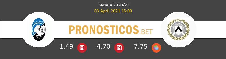 Atalanta vs Udinese Pronostico (3 Abr 2021) 1