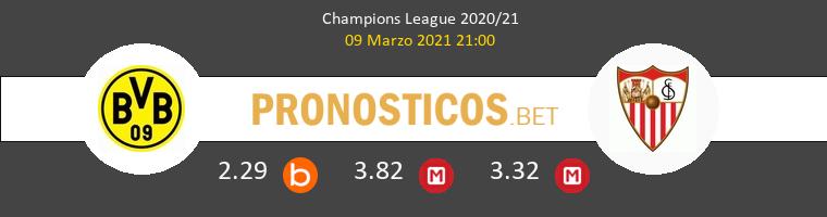 Borussia Dortmund vs Sevilla Pronostico (9 Mar 2021) 1