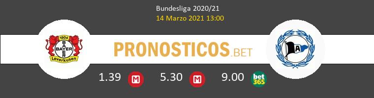 Leverkusen vs Arminia Bielefeld Pronostico (14 Mar 2021) 1