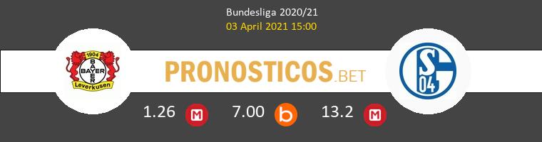 Leverkusen vs Schalke 04 Pronostico (3 Abr 2021) 1