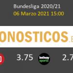 B. Mönchengladbach vs Leverkusen Pronostico (6 Mar 2021) 6