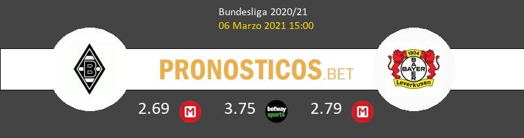B. Mönchengladbach vs Leverkusen Pronostico (6 Mar 2021) 1