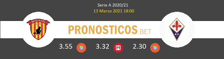 Benevento vs Fiorentina Pronostico (13 Mar 2021) 1