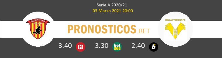 Benevento vs Hellas Verona Pronostico (3 Mar 2021) 1