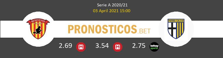Benevento vs Parma Pronostico (3 Abr 2021) 1