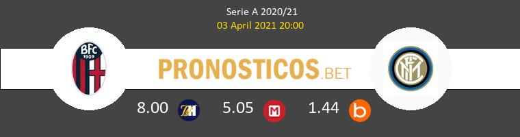 Bologna vs Inter Pronostico (3 Abr 2021) 1