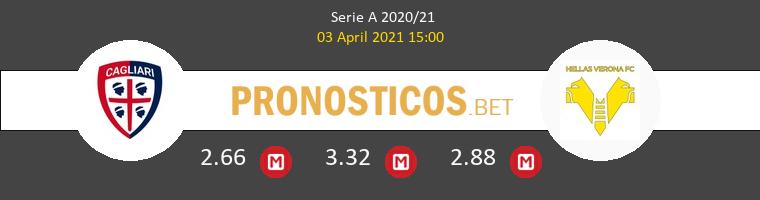 Cagliari vs Hellas Verona Pronostico (3 Abr 2021) 1