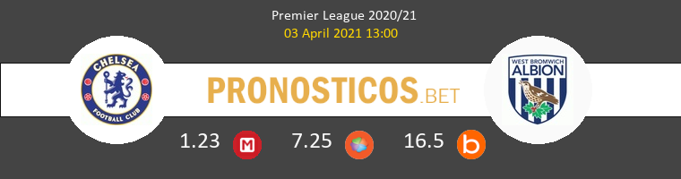 Chelsea vs West Bromwich Albion Pronostico (3 Abr 2021) 1