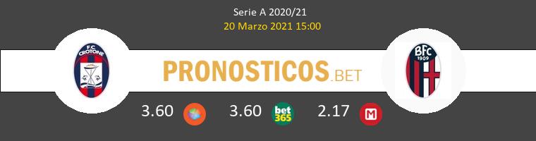 Crotone vs Bologna Pronostico (20 Mar 2021) 1