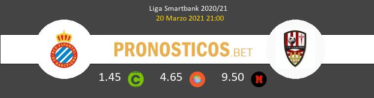 Espanyol vs UD Logroñés Pronostico (20 Mar 2021) 1