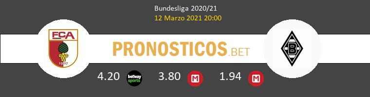 FC Augsburgo vs B. Mönchengladbach Pronostico (12 Mar 2021) 1